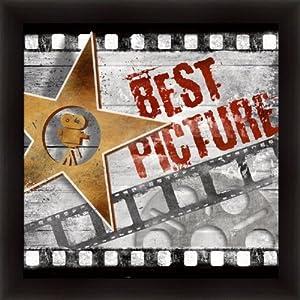 Amazon.com: Best Picture by Conrad Knutsen Media Room Sign Art ...