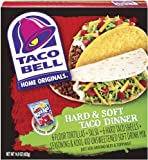 Taco Bell Home Originals Hard & Soft Taco Dinner Kit, 14.9-Ounce Boxes (Pack of 10)