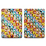 Disney Friends Design Protective Decal Skin Sticker (Matte Satin Coating) for Apple iPad Air Tablet (released on Nov 2013)