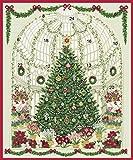 Caspari Advent Card at the Garden RHS