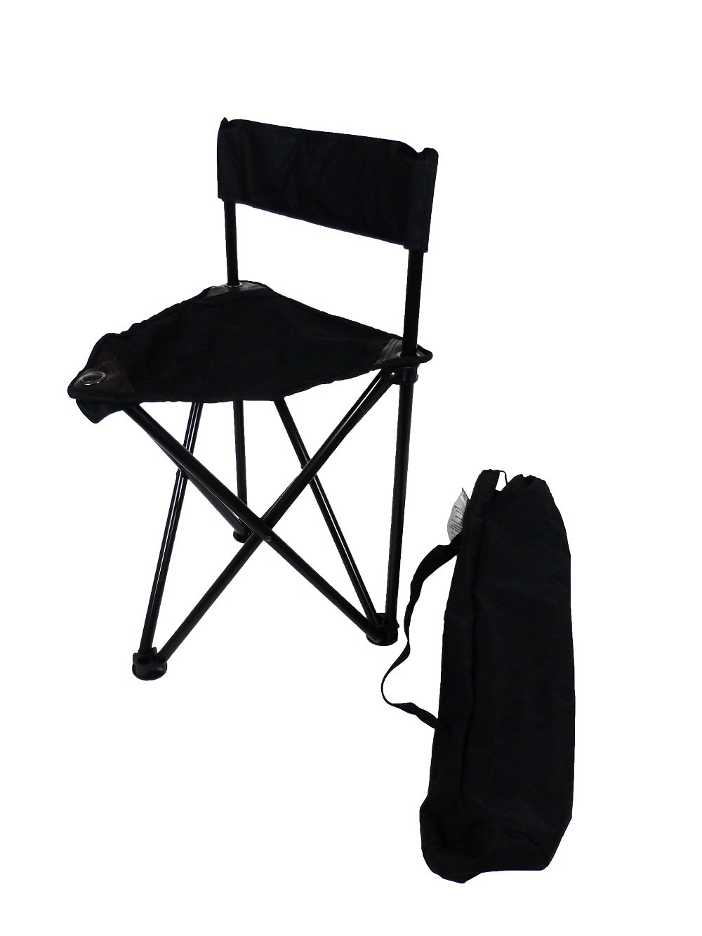 RVTravelMats Mini Folding Tri-pod Fishing Chair Backpacking Mini Camping Chair with Bag (275lbs Capacity) at Sears.com