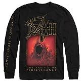 Death - The Sound of Perseverance Long Sleeve Shirt (Medium) (Color: Black, Tamaño: Medium)