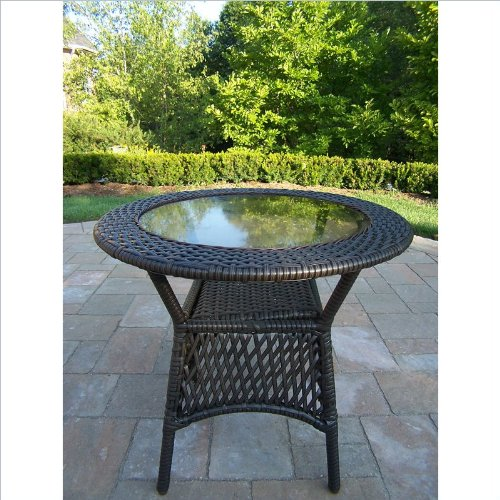 WICKER ROUND COFFEE TABLE. COFFEE TABLE