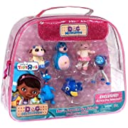 Disney Doc McStuffins Exclusive Figure 6-Pack Docs Favorite Toy Friends Lambie Moo Moo Boppy Squeakers Stuffy & Aurora