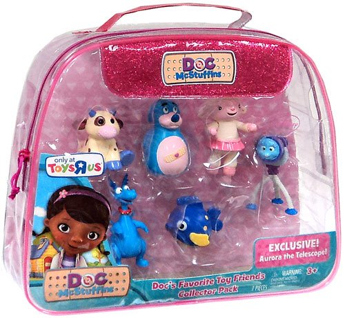 Disney Doc McStuffins Exclusive Figure 6-Pack Doc's Favorite Toy Friends [Lambie, Moo Moo, Boppy, Squeakers, Stuffy & Aurora] at Sears.com