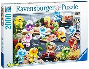 Ravensburger 16608 - Gelini: Küche, Kochen, Leidenschaft - 2000 Teile Puzzle