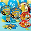 Construction Pals 2nd Birthday Standard Party Pack for 16