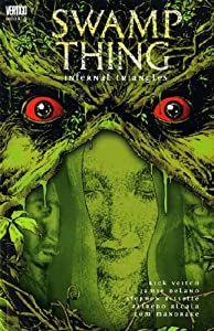 "Cover of ""Swamp Thing: Infernal Triangles..."