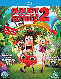 Cloudy with a Chance of Meatballs 2: Revenge of the Leftovers [Blu-ray] [2013]