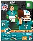 NFL Miami Dolphins Ryan Tannehill Gen 2 Mini Figure, Small