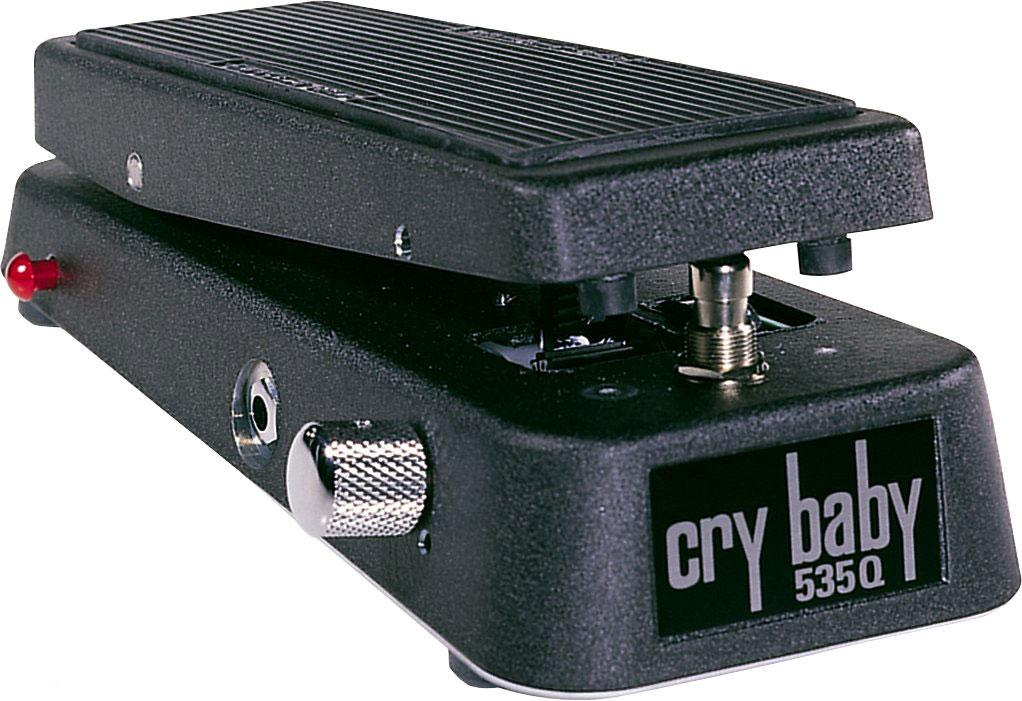 dunlop 535q multi wah crybaby pedal musical instruments. Black Bedroom Furniture Sets. Home Design Ideas
