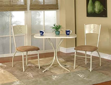 3 pc Latte Dining Set