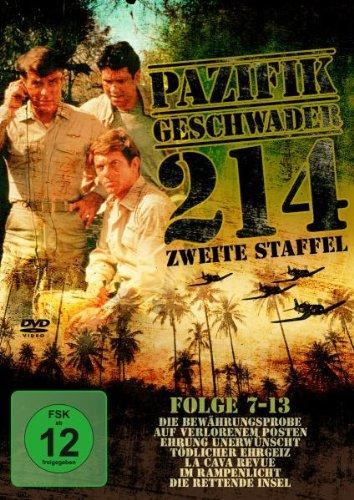 Pazifikgeschwader 214 - Staffel 2/Folge 7-13 [3 DVDs]