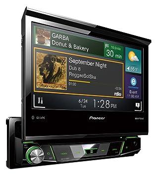 """Pioneer MIXTRAX AVH-X7700BT Autoradio MP3/USB 6,2"""" Bluetooth Noir"""