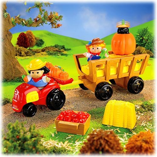 Fisher Price Little People Harvest Hayride Playset front-107356
