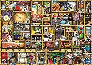 1 X Ravensburger The Curious Cupboard The Kitchen Cupboard Jigsaw Puzzle (1000 Piece)