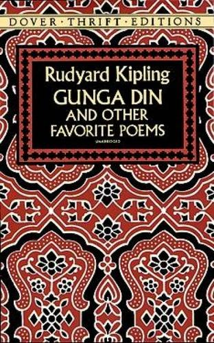Gunga Din and Other Favorite Poems (Dover Thrift Editions)