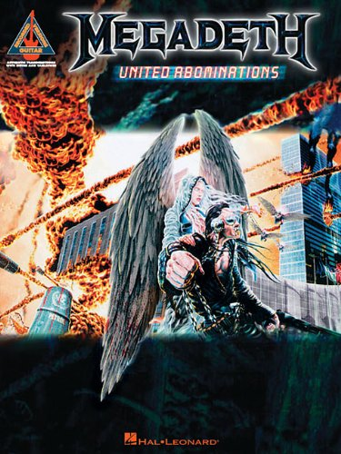 Megadeth - United Abominations (Guitar Recorded Versions) PDF