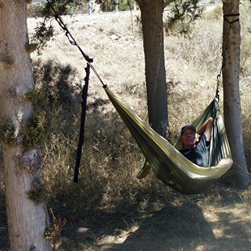 Backyard Hammock Setup : camping backpacking backyard garden quick setup then enjoy your rest
