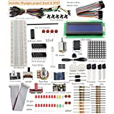 Sunfounder Project Super Starter Kit for Raspberry Pi, GPIO Extension Board LEDs Resistors Jump wires