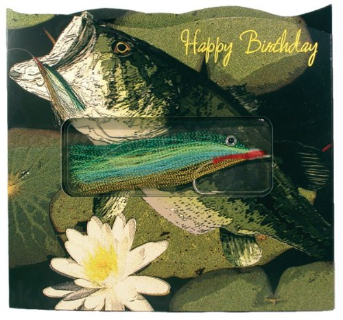 Happy Birthday / Bass Gift-in-greet Card Has