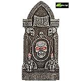 Morbid Enterprises Boneyard Flashing Eye Tombstone Halloween Decor, Multi, One Size