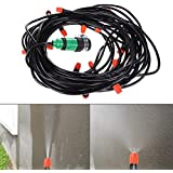 Generic New Design 20M Watering Flower Sprinkler Home Garden Greenhouse Spray Cool Nozzle Set Plant Sprinkler...