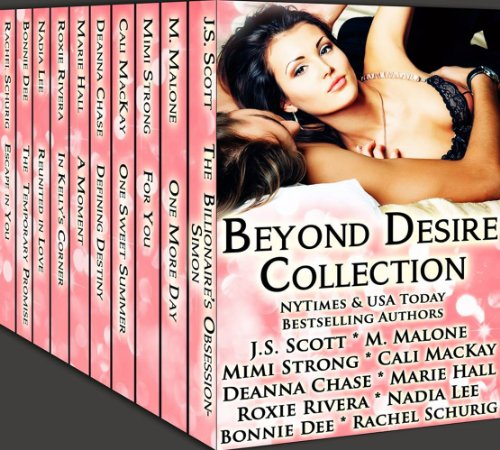J.S. Scott - Beyond Desire Collection: (A Limited Edition Boxed Set of Alpha Males, Badboys and Billionaire Romance Novels)
