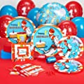 Dr. Seuss 1st Birthday Standard Party Pack for 16