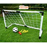 Sinuote Mini Football Soccer Goal Post Net Set Ball Pump Practise Toy Indoor Outdooor Kids Childs toy