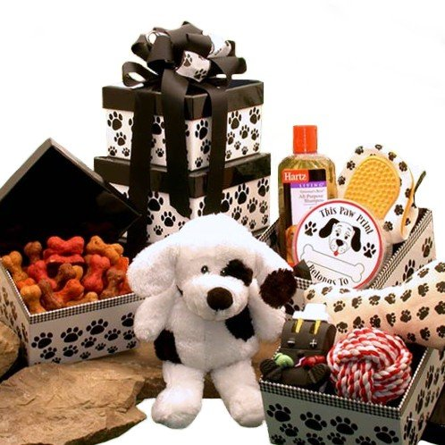 Patches Doggie Treats Tower