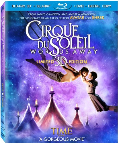 Cirque du Soleil - Cirque Du Soleil - Worlds Away (Three-Disc Combo: Blu-Ray 3d / Blu-Ray / Dvd / Digital Copy) - Zortam Music