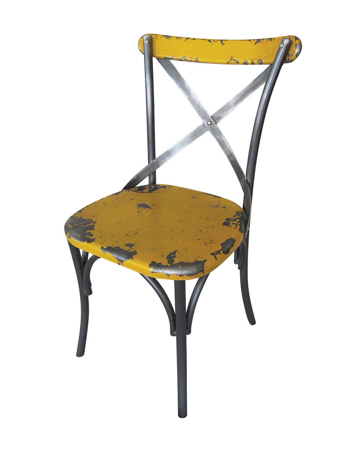 industrial urban metal distressed dining chairs set of 2 bali dining
