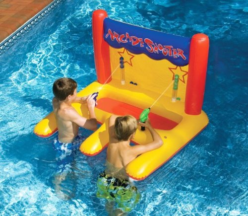 Arcade Shooter Water Float Toy For Swimming Pool & Beach