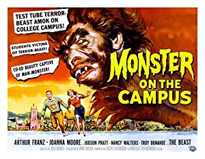 "Monster on Campus Poster Replica 11x14"" Photo Print"