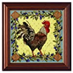 Bucilla Rooster Counted Cross Stitch...