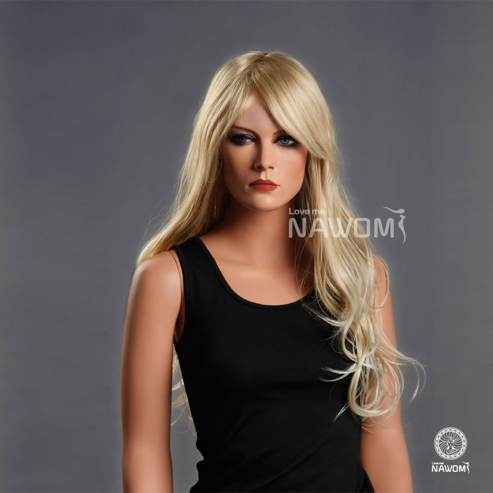 Long Golden Blonde Wig Wig Golden Blonde Color
