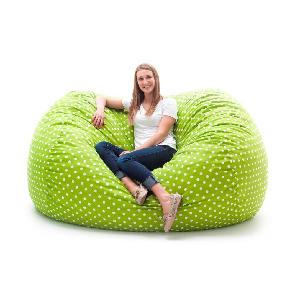 Comfort Research Comfort Research Original Fuf Chair 7 ft. XXL Twill Bean Bag Sofa