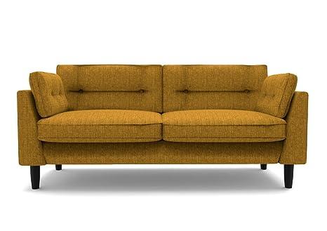 3 Sitzer Big Sofa senfgelb - Marigold