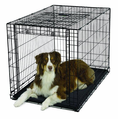 Midwest Homes For Pets Ovation Single Door Dog Crate, 42-Inch back-7386