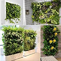 56 Pockets Indoor Outdoor Wall Balcony Herb Garden Hanging Planter Bag Plant Pot