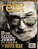 JERRY GARCIA GRATEFUL DEAD RELIX MAGAZINE AUGUST 2005 RYAN ADAMS MIKE DOUGHTY MORE!