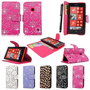 Amazon com cellularvilla tm case for nokia lumia 520 pu leather