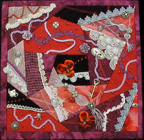 Artsi2 A2CRZYQLT Crazy Quilt Wall Hanging Kit