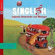 PONS Singlish. Kinderlieder zum Mitsingen Hörbuch von  div. Gesprochen von:  div.
