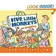 Five Little Monkeys Go Shopping (A Five Little Monkeys Story)