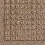 BISS - Andersen 280 Medium Brown Polypropylene WaterHog Fashion Entrance Mat, 3' Length x 2' Width, For Indoor/Outdoor