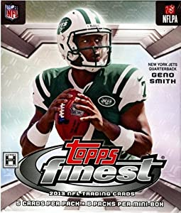 2013 Topps Finest Football Hobby Mini-Box (1 Mini Box - 6 Packs) by Topps