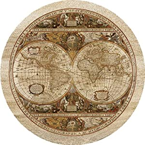 "Thirstystone ""Old World Map' Drink Coaster Collection"