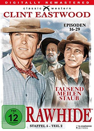 Rawhide - Tausend Meilen Staub, Staffel 5, Teil 2 [4 DVDs]